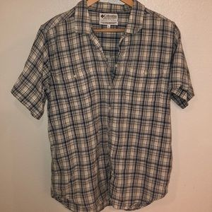 COLUMBIA Women's Button Down Shirt